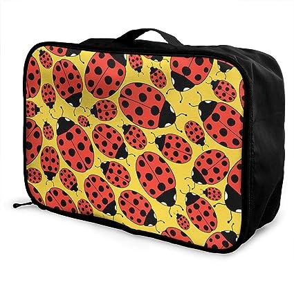 Bolso de Equipaje Bolsa de Viaje sghshsgh Ladybug Travel ...