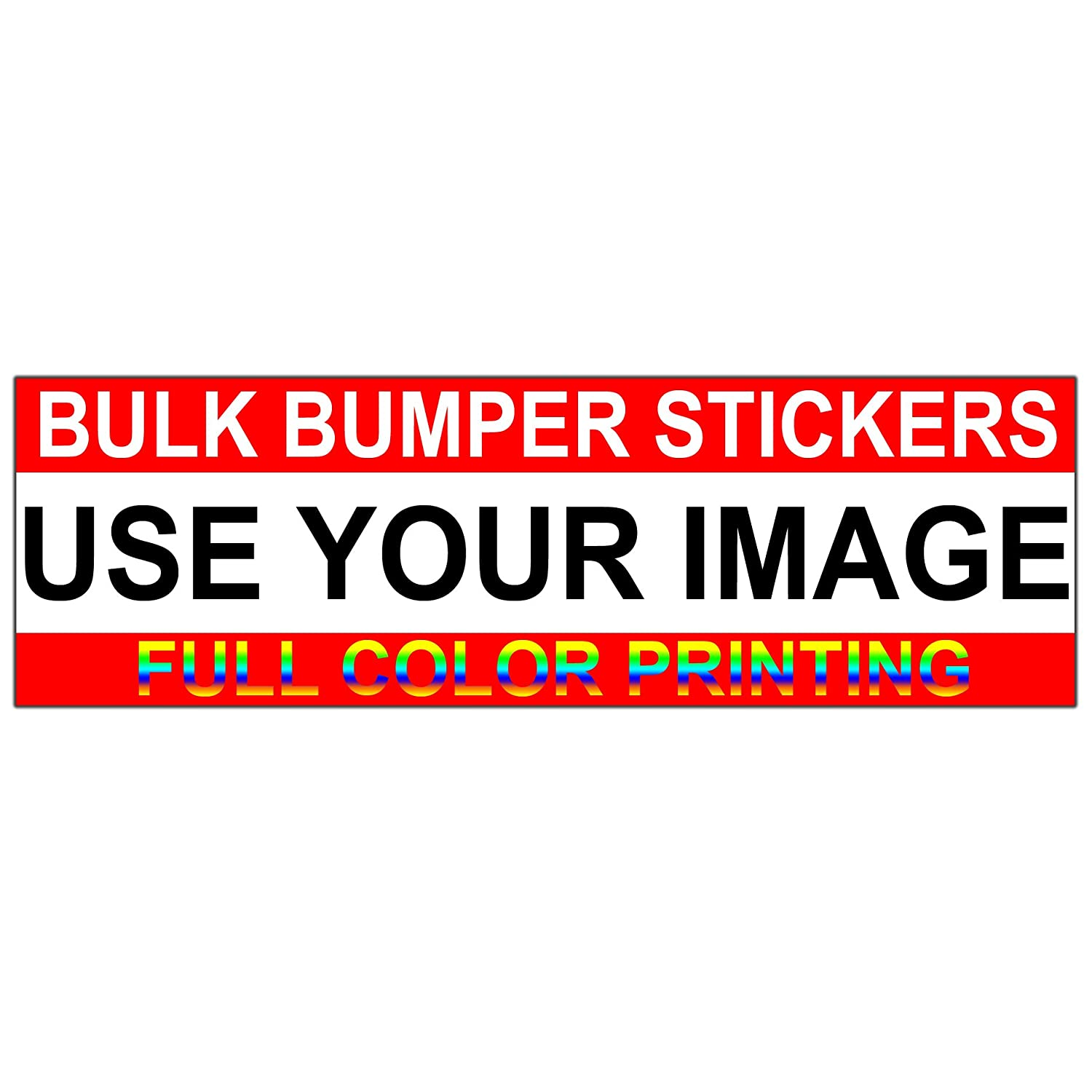 Amazon com custom bumper stickers bulk bumper sticker pack