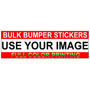 Bumper Stickers Bulk