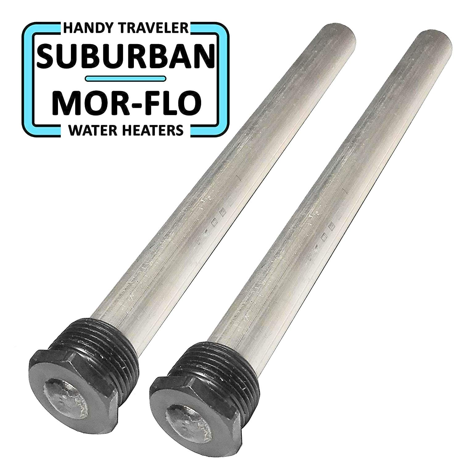 RV Water Heater Anode Rod - Magnesium Anode Rod 232767 Suburban Water Heaters Life - 9.25''Long & 3/4'' Thread - Long Lasting Tank Corrosion Protection by Sio Green