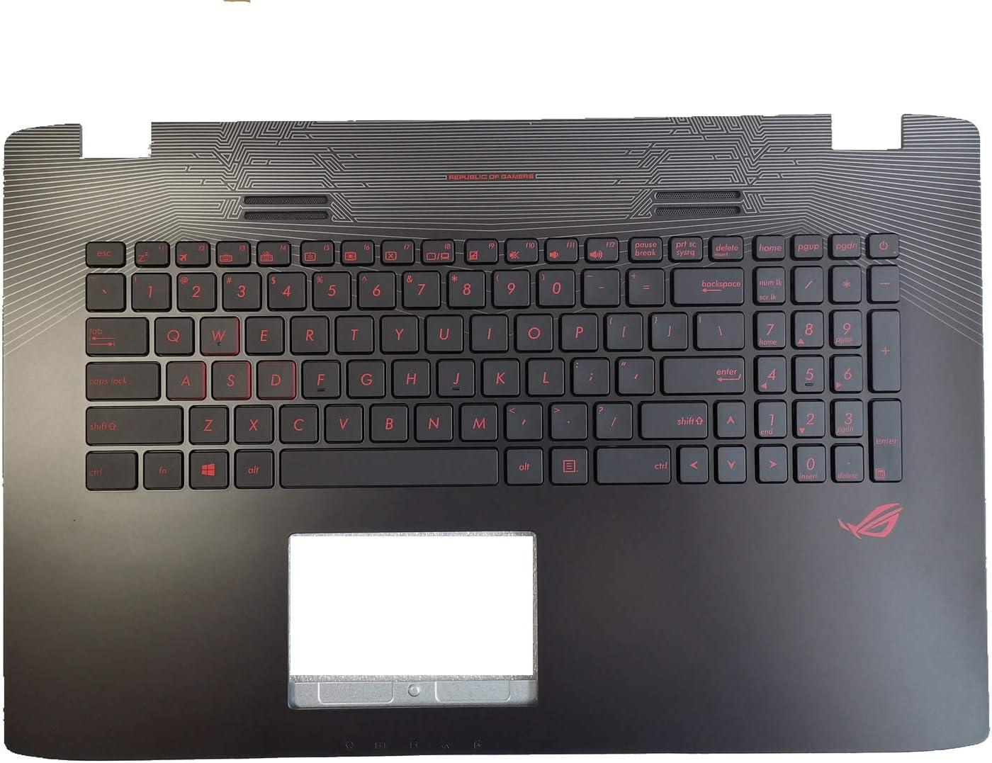 New FOR Asus ROG GL752 GL752V GL752VL GL752VW GL752VWM Keyboard US Backlit