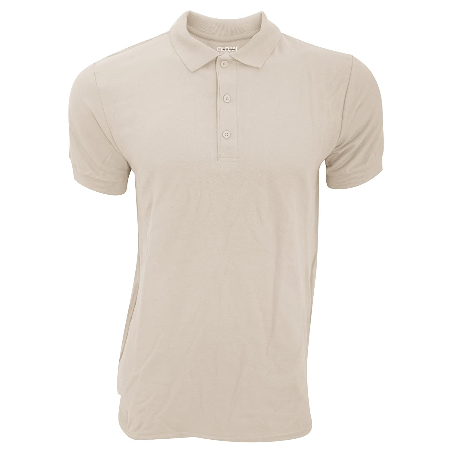 Gildan Mens Premium Cotton Sport Double Pique Polo Shirt