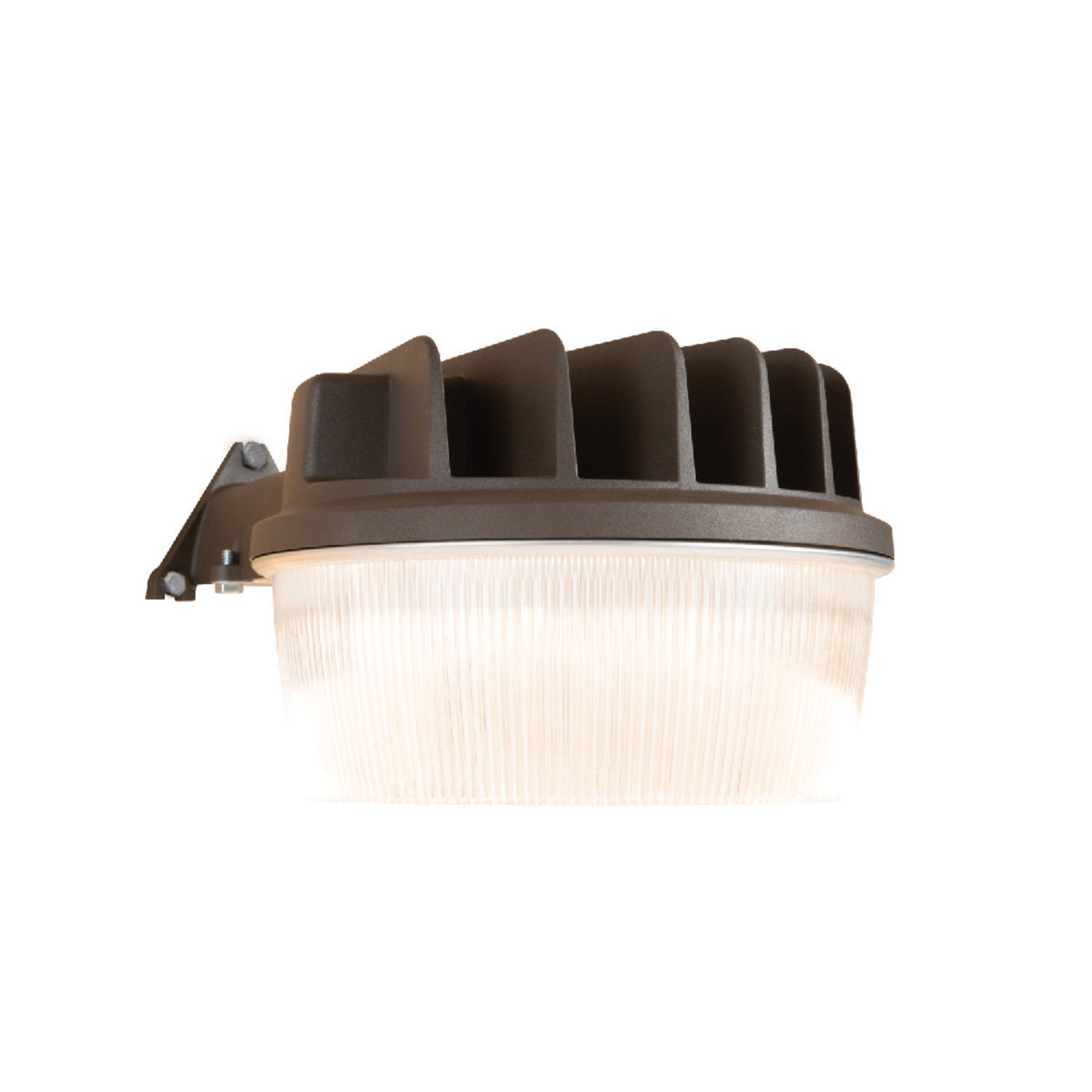 Halo AL1550LPC Outdoor Integrated Led Dusk to Dawn Area & Wall Security Light with Integrated Photo Control- 1900 Lumens, Bronze