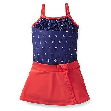 06993dad5161 Amazon.com: Carter's Girls 1-piece Swimsuit & Skirt Set: Clothing