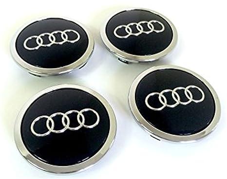 8T0 601 170A - Juego de 4 tapas para tapacubos de Audi A3 A4 A5 A6 A7 ...