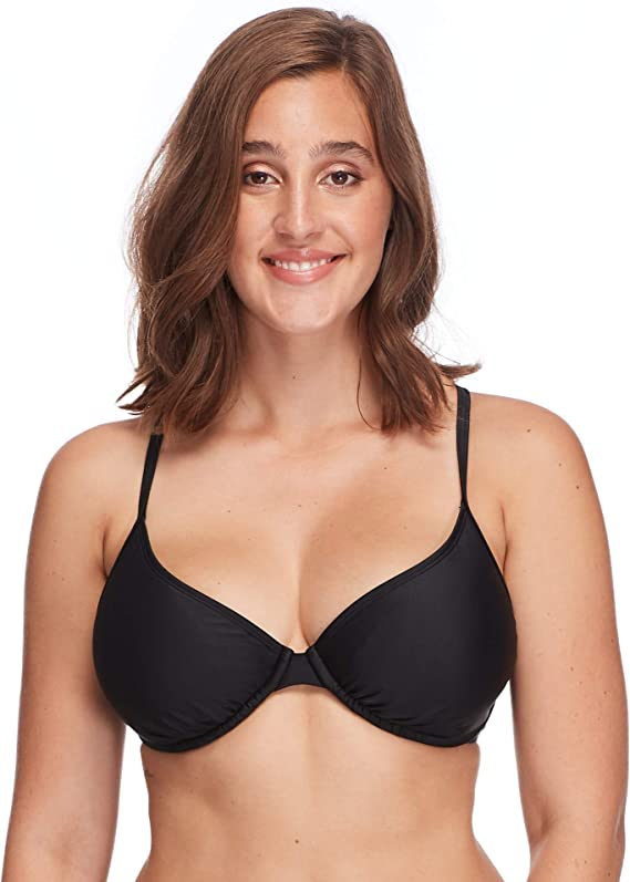 Body Glove Women's Smoothies Solo Solid Underwire D