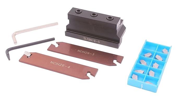 15 Piece Set HHIP 3900-5359 0.625 x 1.02 Indexable Cut-Off Tool Kit