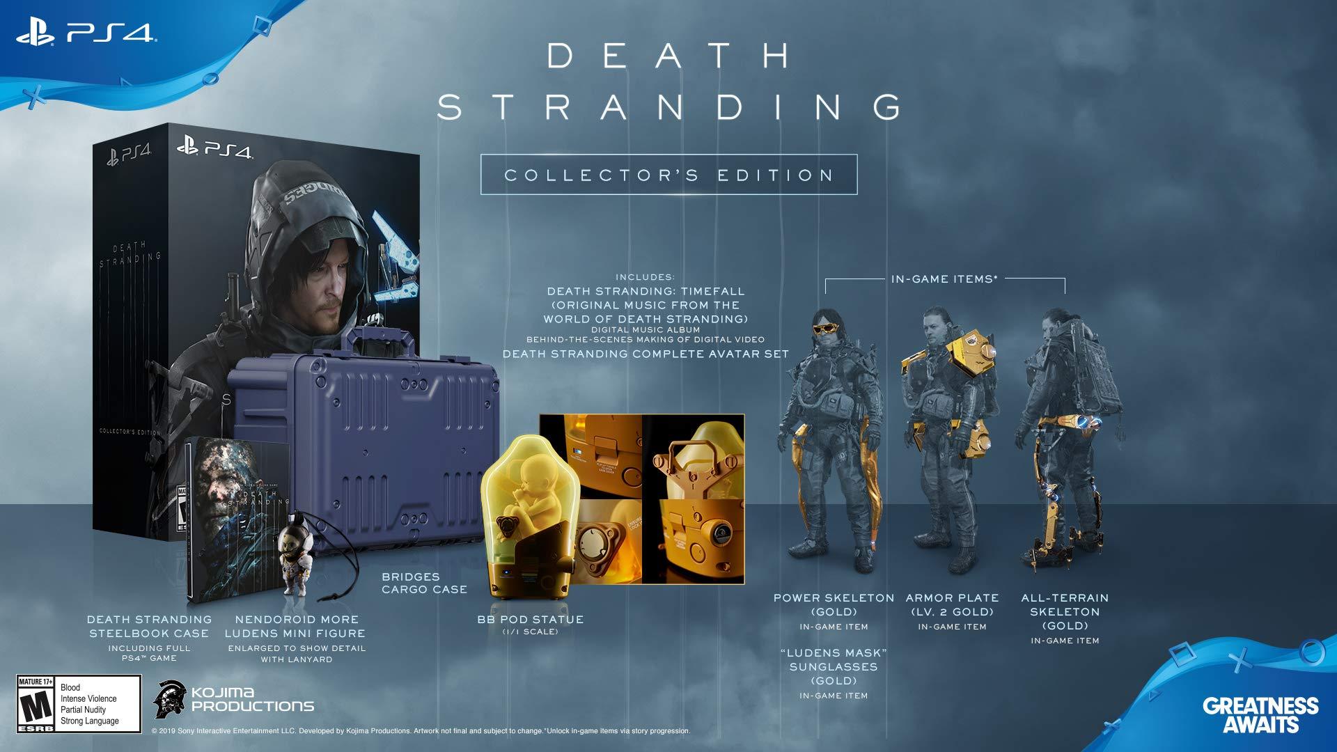 Kojima Productions Death Stranding Ludens Mini Figure 43mm Brand New