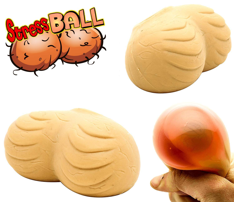 Balls mens women squeezing An interesting