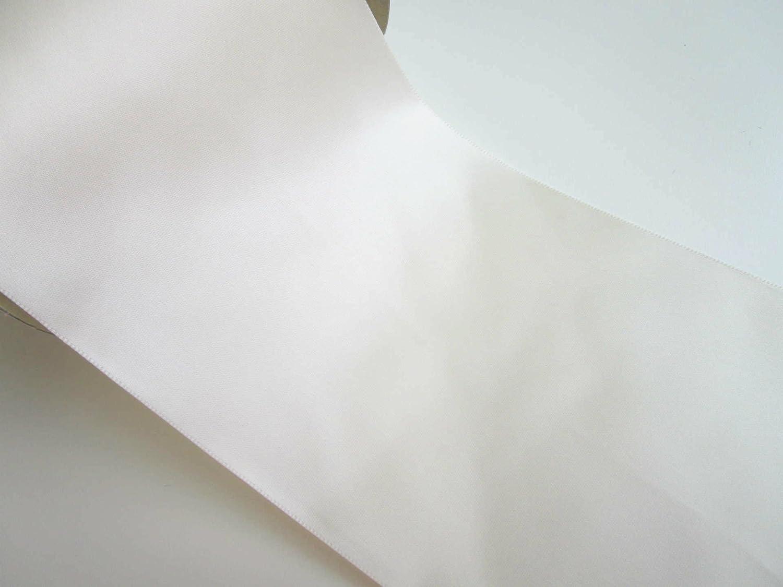 Crema 10 m x 10 cm nastro di raso