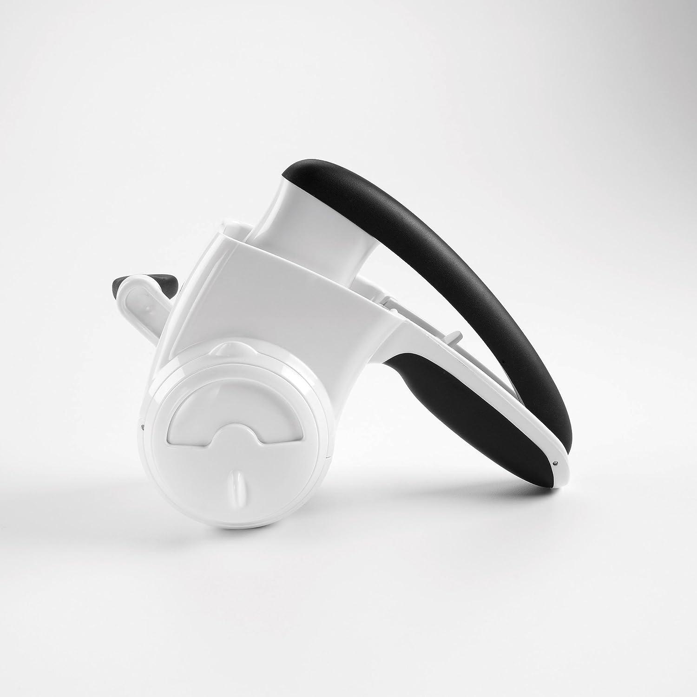 18 x 13 x 22 cm Oxo Grattugia per Formaggio Plastica Bianco