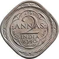 Arunrajsofia British India 2 Annas George VI Nickel Coin