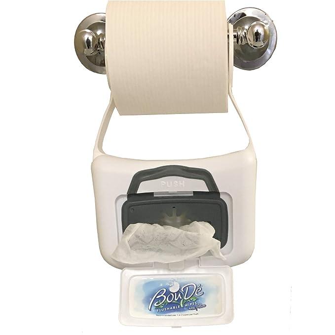 Amazon.com: (Set/2) boude baño dispensador de toallitas Y ...