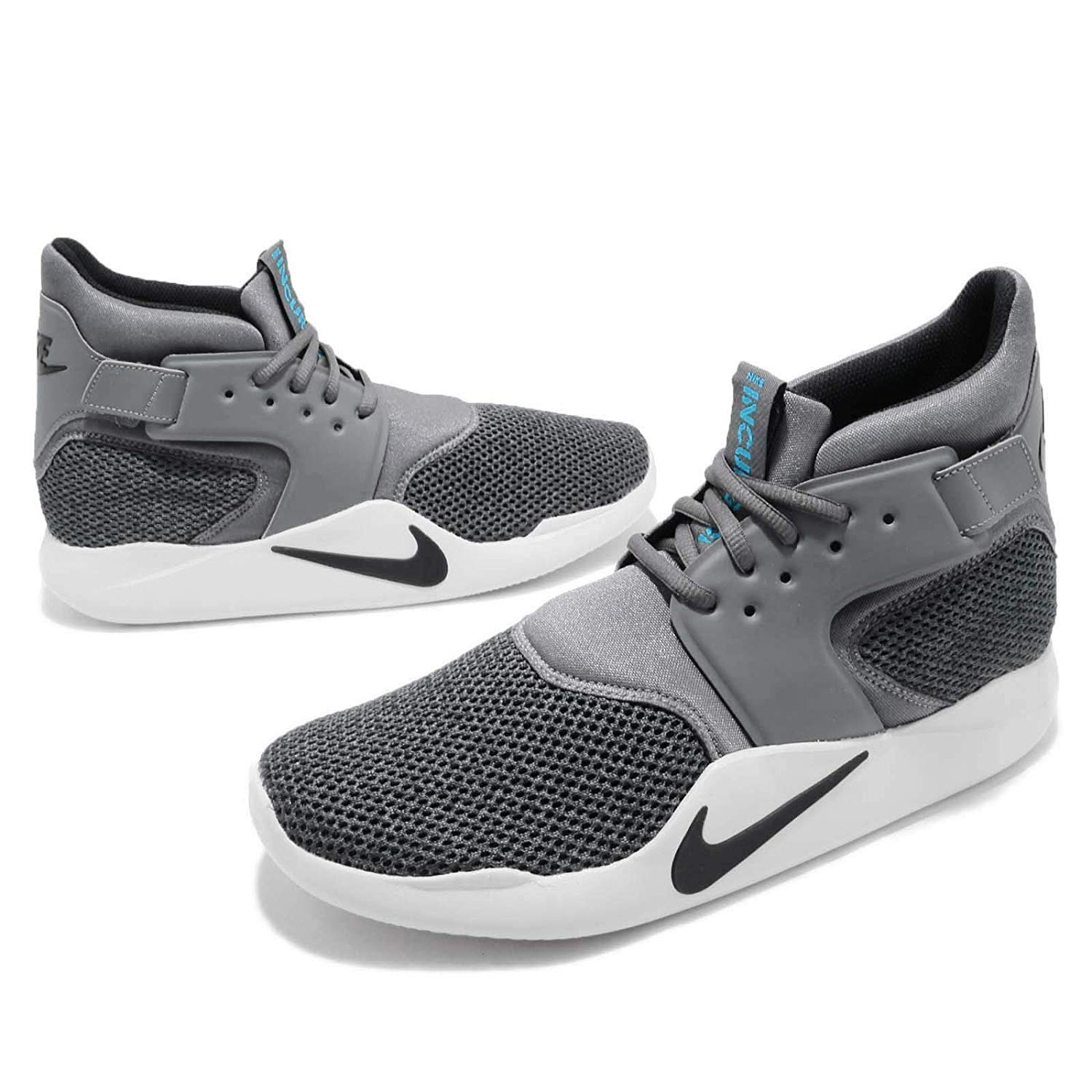 Amazon.com | Nike Mens Incursion Mid Se Shoe Dark Grey/Black-Vast Grey- | Athletic