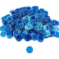 Tapp Collections Bingo Transparent Chips 300-pk - Blue