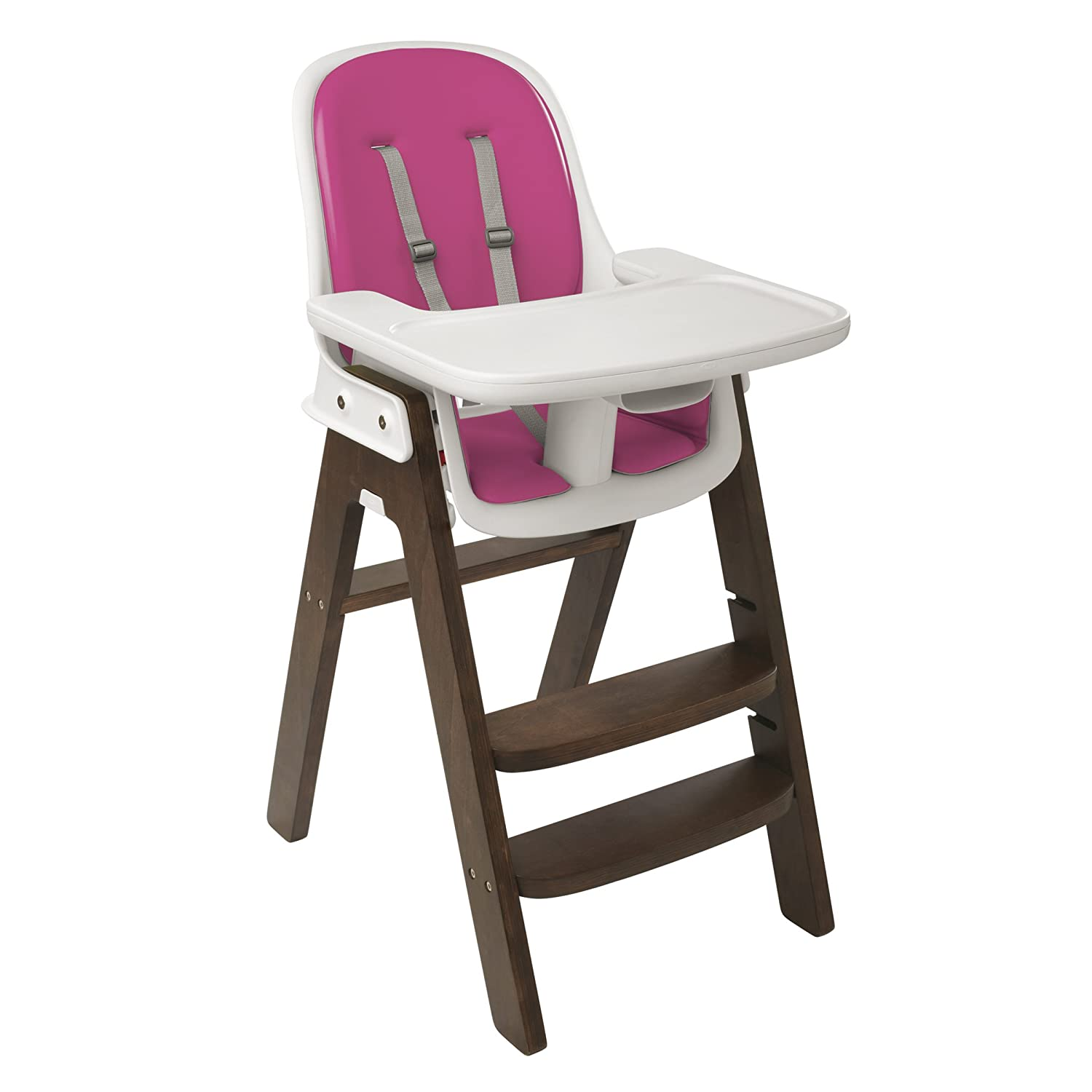 Amazon.com : OXO Tot Sprout High Chair, Pink/Walnut : Childrens Highchairs  : Baby