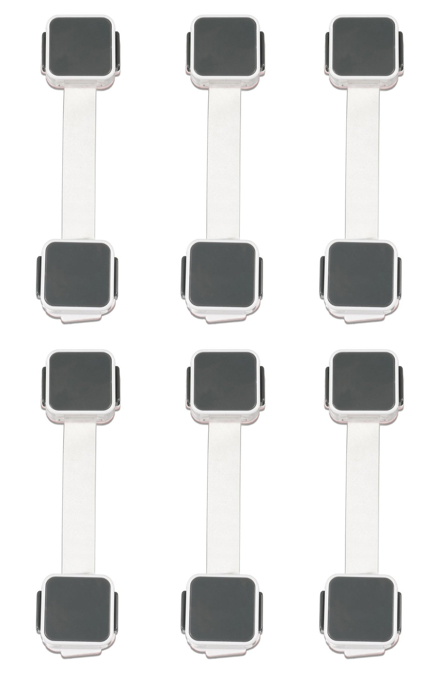 Munchkin XTRA GUARD Dual Locking Multi-Use Latches - 6 Pack