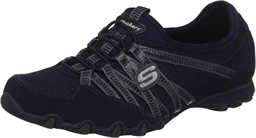 Skechers Bikers Hot Ticket, Bas Femme