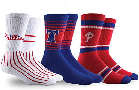 PKWY by Stance Los Angeles Dodgers Unisex 2-Pack Crew Socks