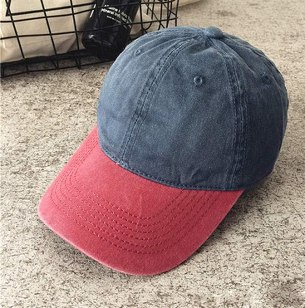 Qiiueen Sombrero De Hombre Y Mujer, Gorra Curva De Color a Juego ...