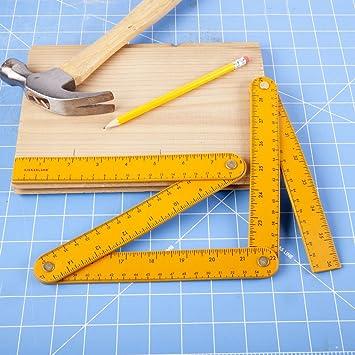 Kikkerland Leatherette Ruler CD128