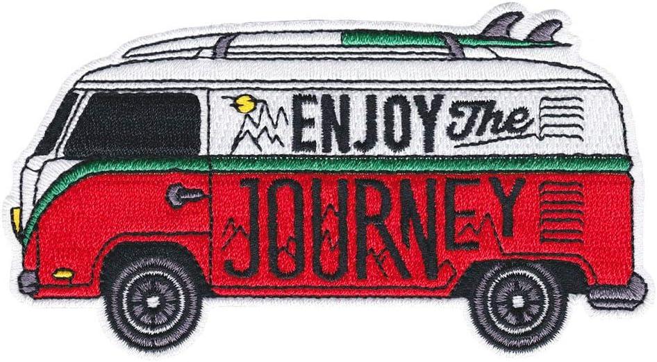 Asilda Store Parche bordado para coser o planchar (Enjoy The Journey)