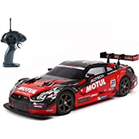 Hobby-Ace Super GT RC Sport Racing Drift Car, 1/16 Remote Control Car for Adults Kids Gifts, 4WD RTR Vehicle with 6 Battery and Drift Tires - Red