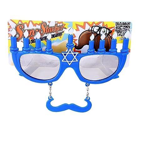 Menorah Sunstache Sunglasses 0CWMx