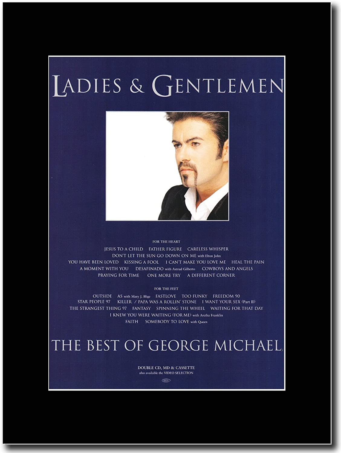 gasolinerainbows George Michael - Ladies & Gentlemen Promo de la ...