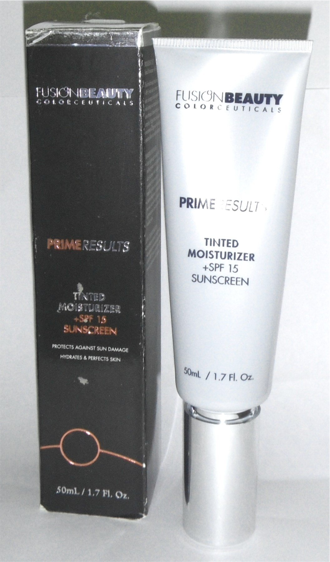 Fusion Beauty Primerresults Tinted Moisturizer Plus SPF 15, Golden Beige, 1.7 Ounce