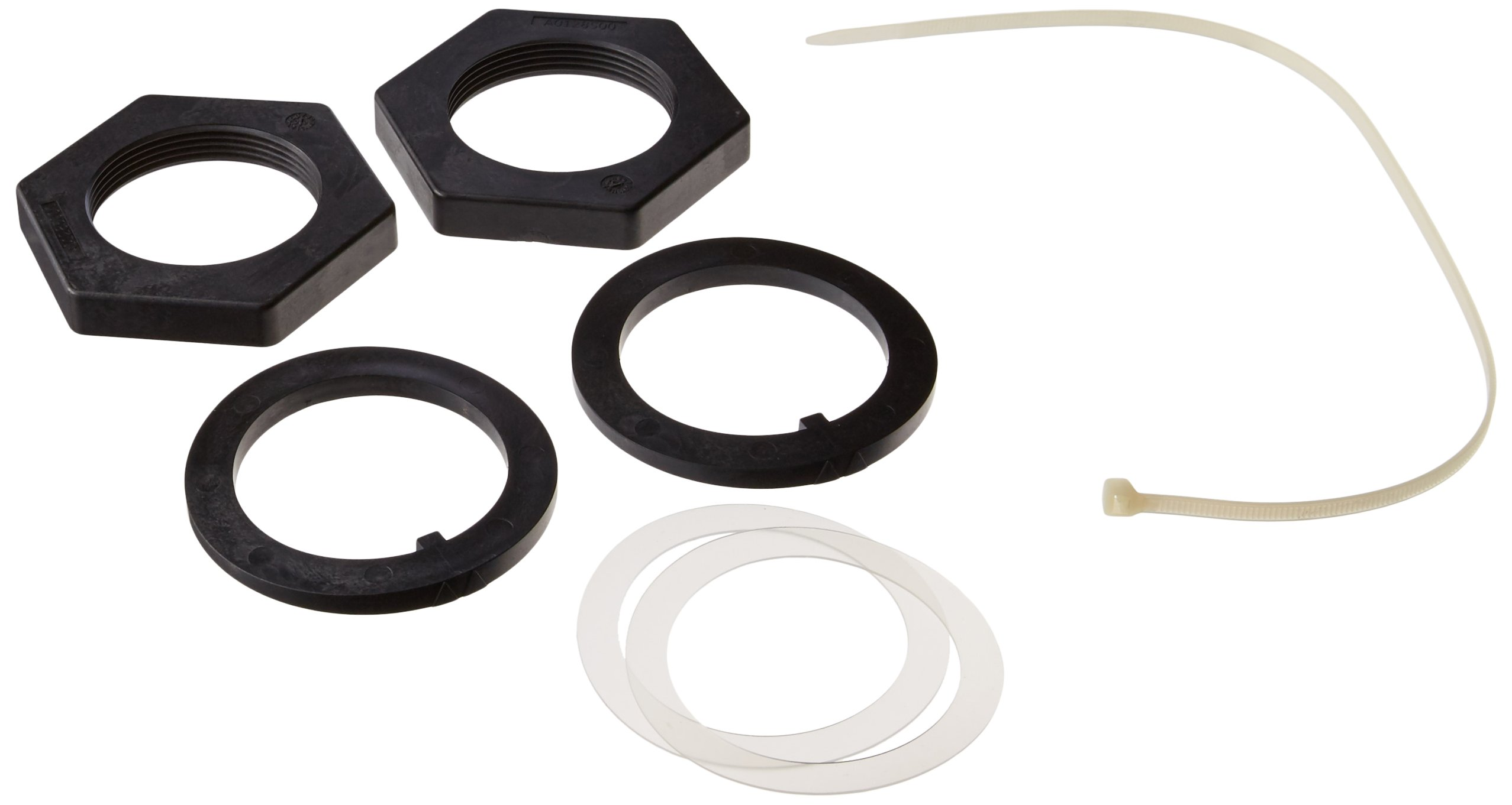 Zodiac R0487900 Nuts, Slip Ring and Inner Spacer Replacement for Zodiac Jandy JS Series JS100-SM Sand Filter by Zodiac