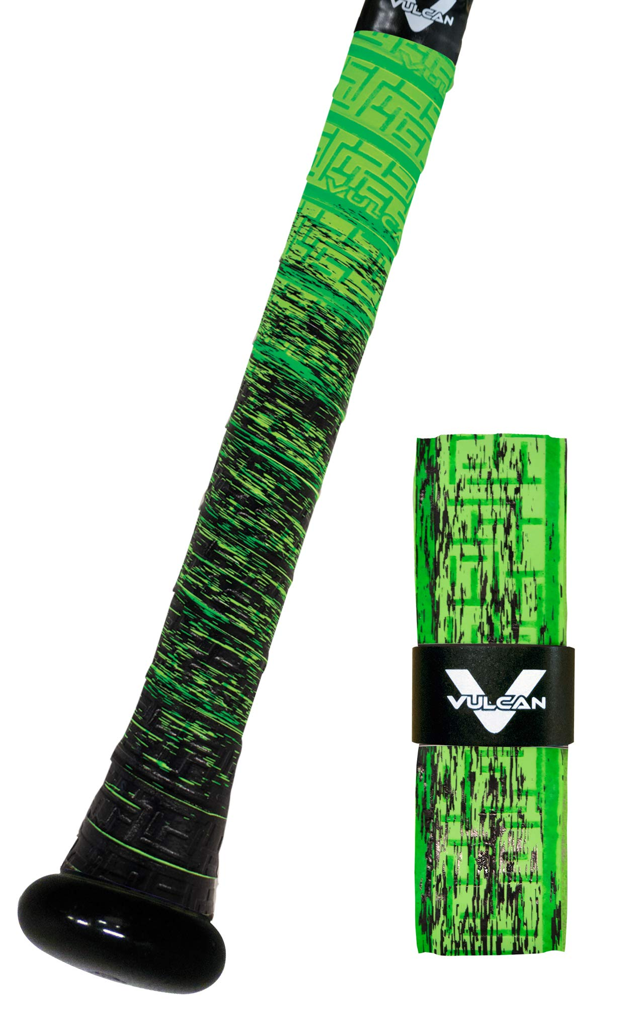 Vulcan 1.75mm Bat Grips/Green Slime by Vulcan