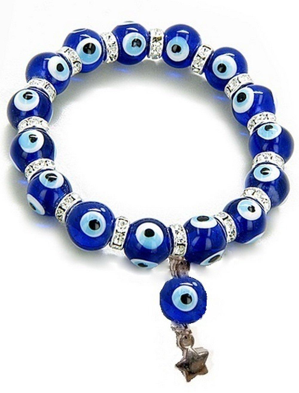 Bracelet oeil turc bleu