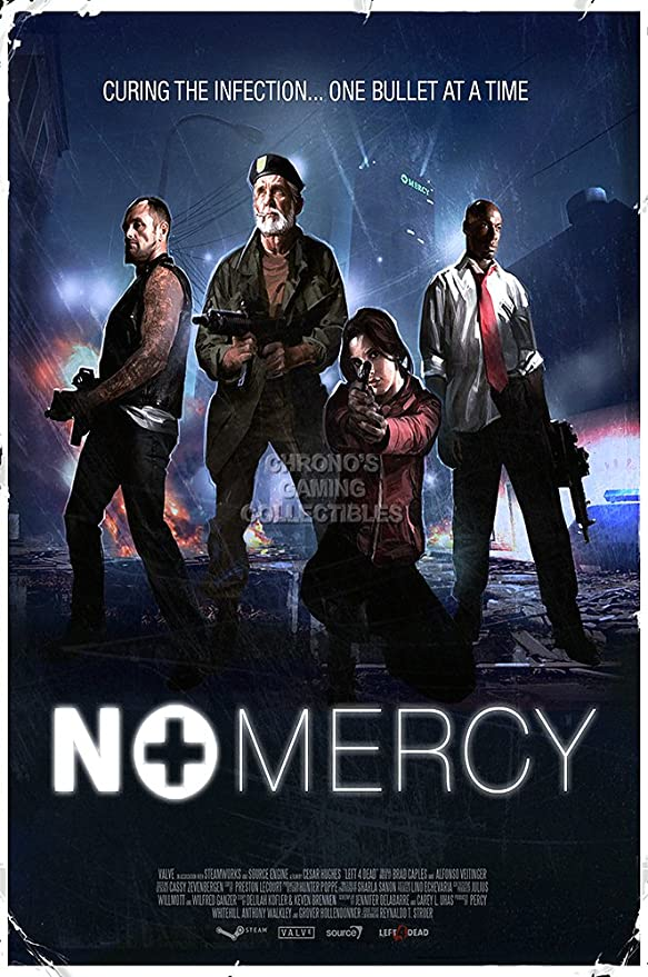 9d385204 Amazon.com: CGC Huge Poster - Left 4 Dead 2 DLC No Mercy Flyer GLOSSY  FINISH - OTH555 (24