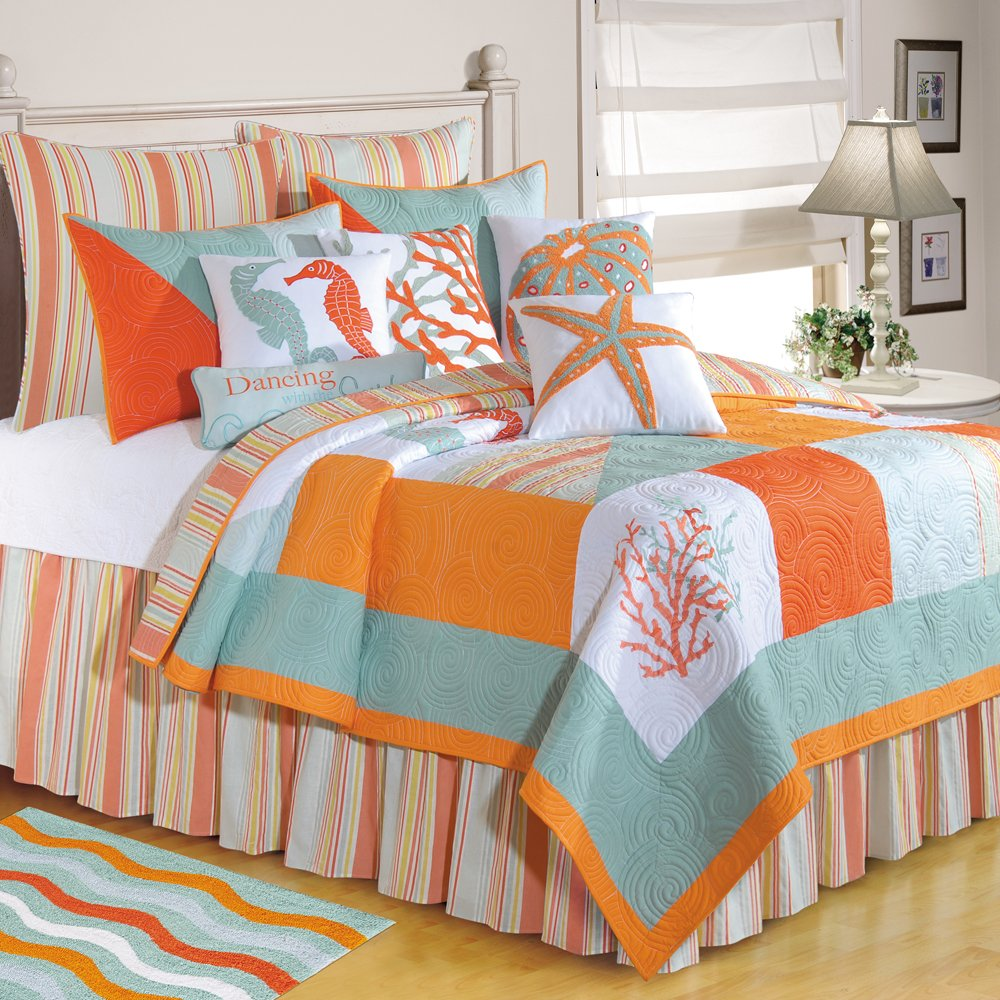 C & F Enterprises Fiesta Key Twin Quilt