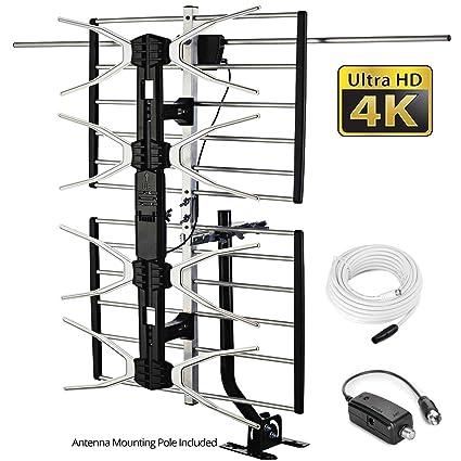 2ce6d109d3f96 pingbingding HD TV Antenna Outdoor Antenna Digital Antenna Amplified Antenna  150 Mile Long Range Antenna High