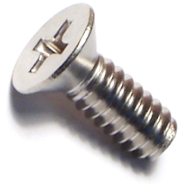 Piece-100 Hard-to-Find Fastener 014973193515 Phillips Flat Machine Screws 10-24 x 1//2