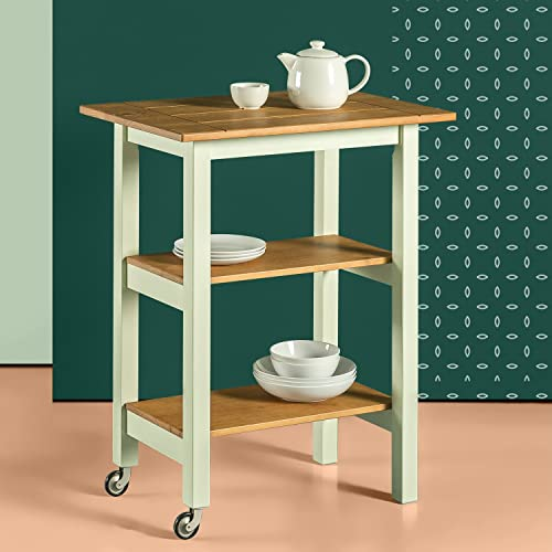 Zinus Becky Farmhouse Kitchen Cart