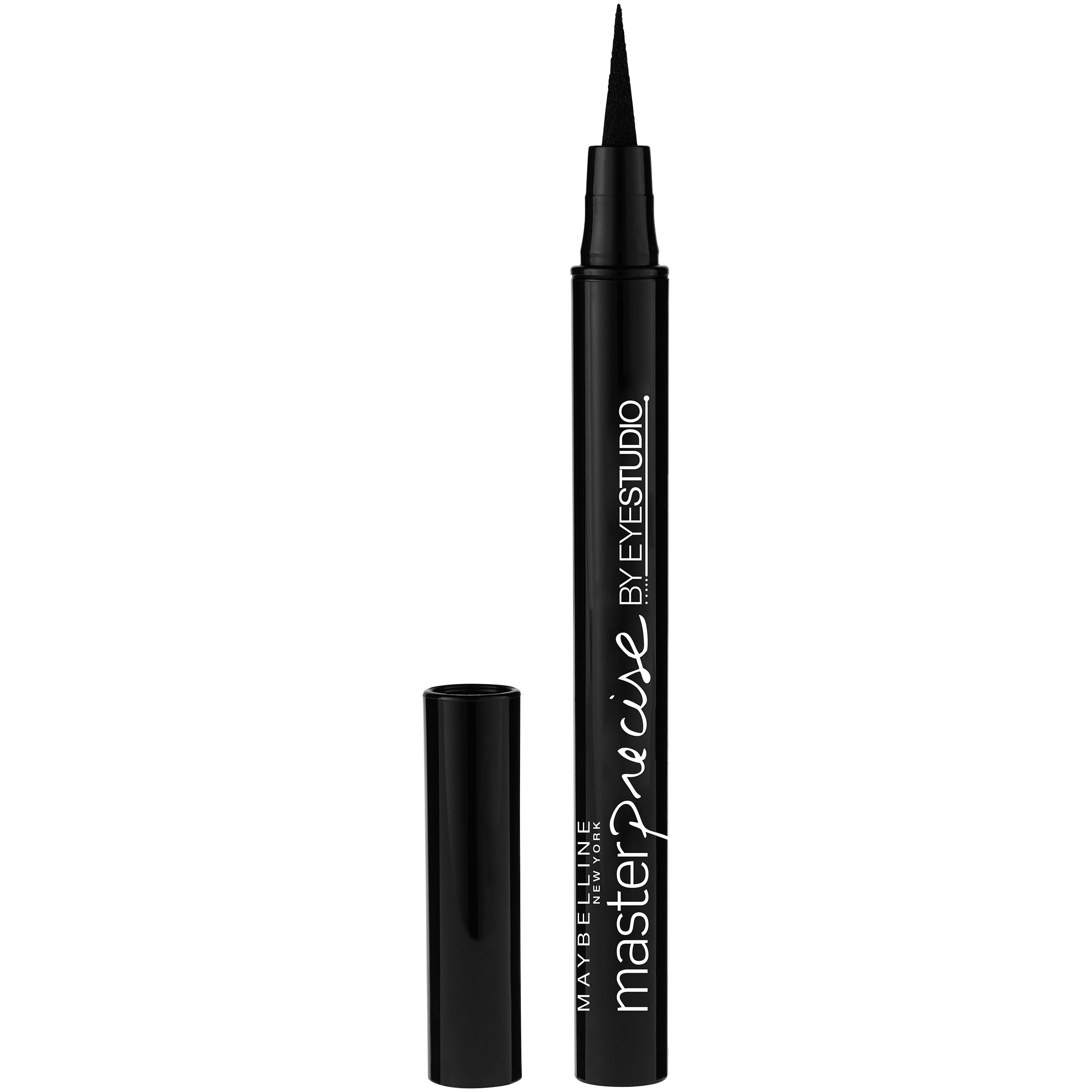 Maybelline Makeup Eyestudio Lasting Drama Gel Eye Liner, Blackest Black, Waterproof, 0.037 oz