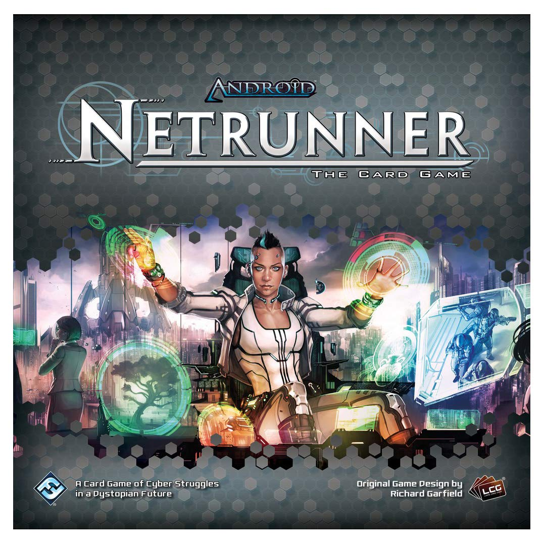 Android Netrunner LCG Revised Core Fantasy Flight Publishing ADN49