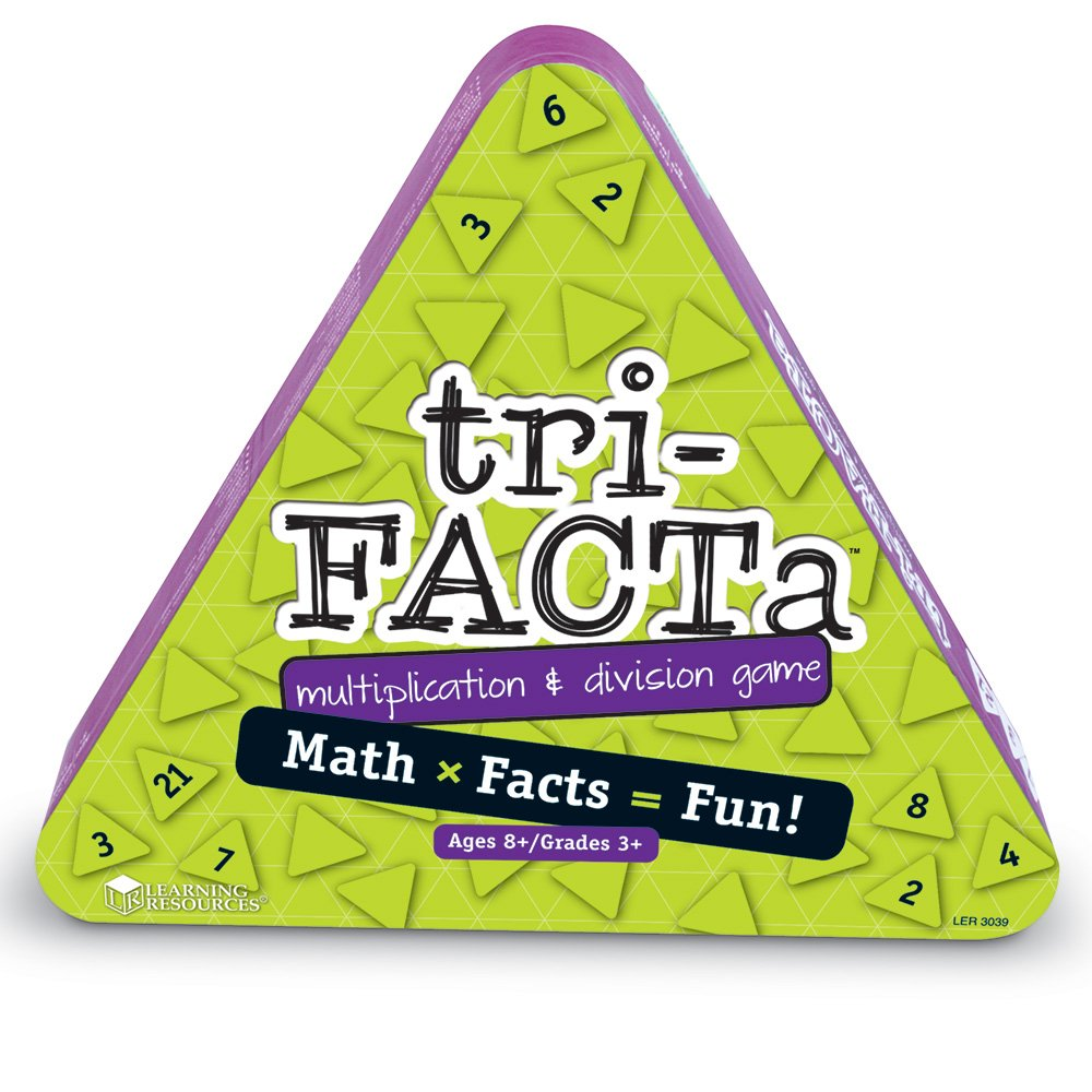 Learning Resources tri-FACTa Multiplication & Division Game