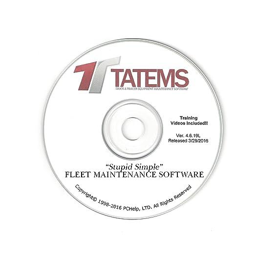 Amazon com: Fleet Maintenance Software TATEMS Truck And Trailer