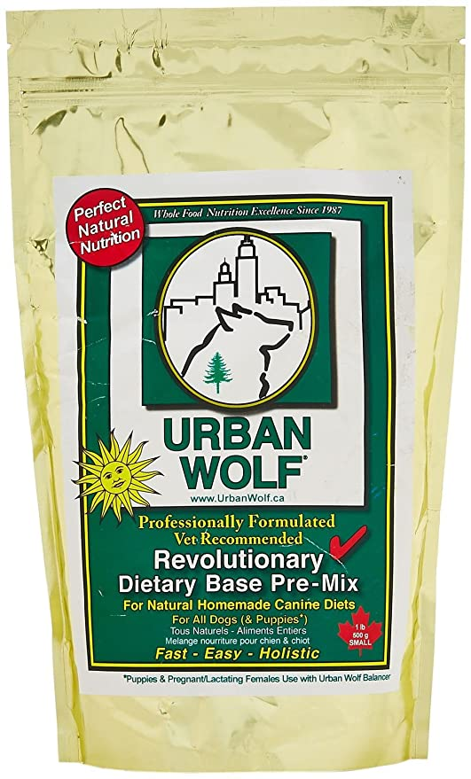 large discount really cheap great prices Urban Wolf Dog Food Mix - Dietary Base Mix - 1 Lb: Home And ...
