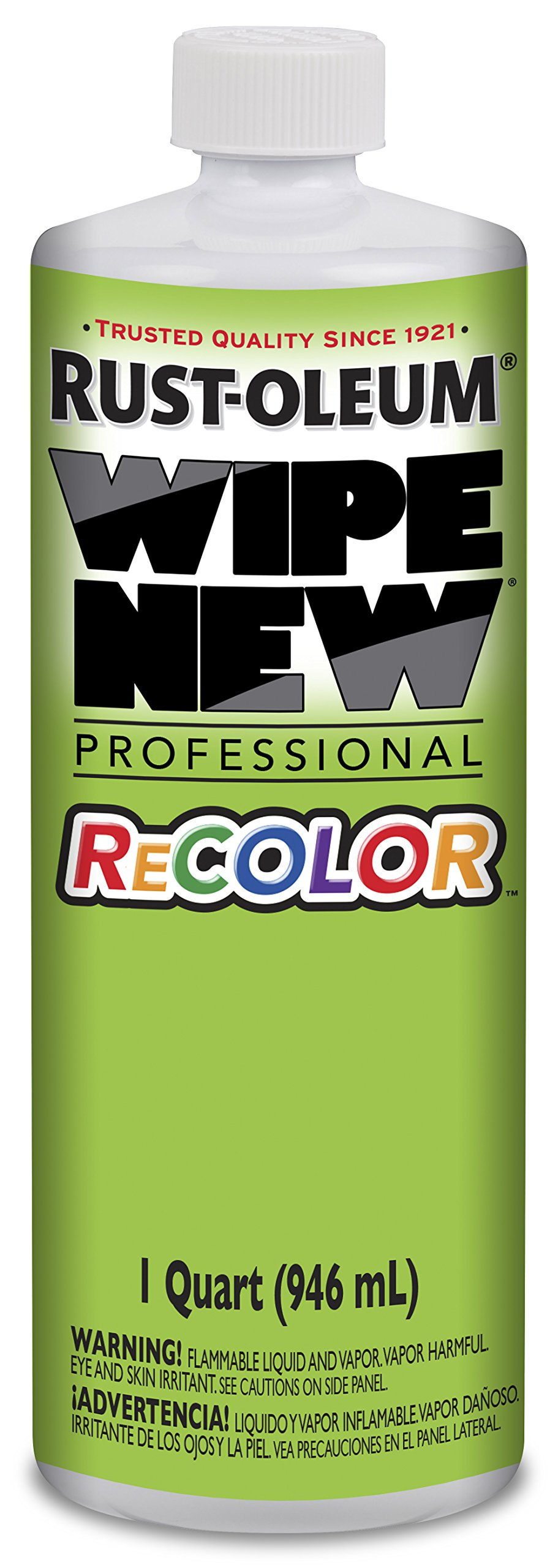 Rust-Oleum 312516 Wipe New Professional Recolor, 32 Oz Qt