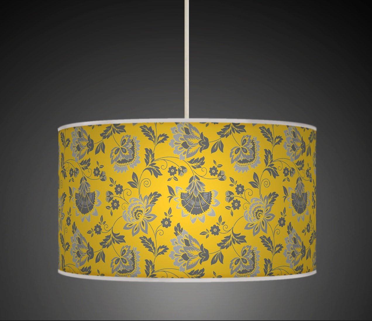 Abat-jours 7111309893385 Conique Gica Lampadaire Tissus//PVC Multicolore