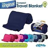 Cloudz Compact Travel Blanket - Navy