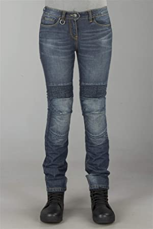 Spidi - J & Racing Mujer Denim - Pantalones vaqueros: Amazon ...