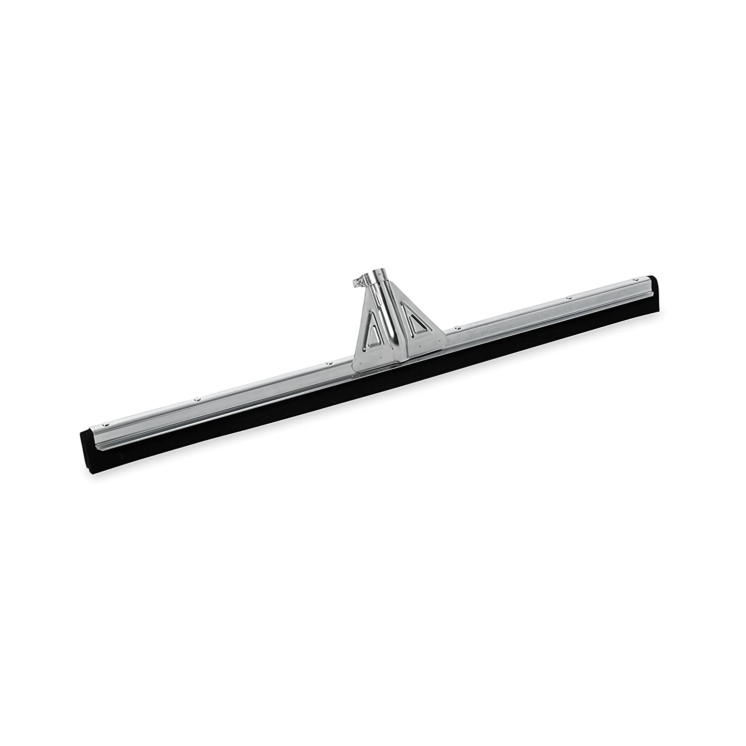 Rubbermaid Commercial Heavy-Duty Floor Dual Moss Squeegee, 30-Inch Length x 3.25-Inch Width x 5.5-Inch Height, Black (FG9C2900BLA)