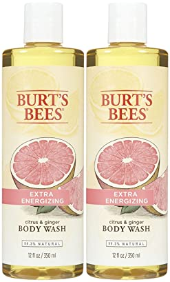 Burt's Bees Body Wash - Citrus and Ginger - 12 oz - 2 pk