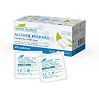 Avanti Medical Alcohol pads, 100 stuks, steriele alcoholpads, doekjes alcohol